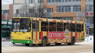 Поездка на автобусе ЛиАЗ-5256.26 №532 г.Липецк маршрут 8