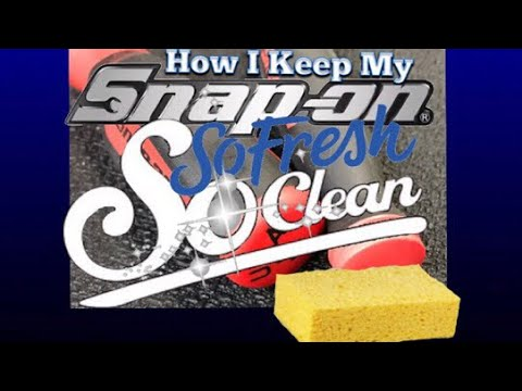 Clean Those Tools ! Nobody wants to see dirty tools ! Easy Clean-up