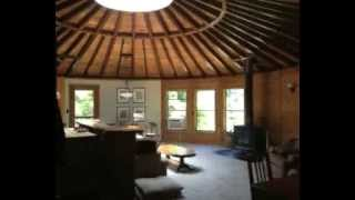 Sustainable 35 year old Yurt Home Video