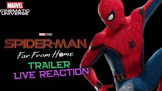 Spider-Man Far From Home Trailer Live Reaction - Breakdown Channel Universe Live