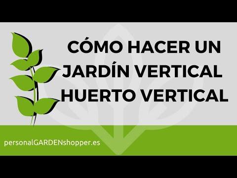 Como hacer un jard n vertical o huerto vertical paso a for Como construir un jardin vertical paso a paso