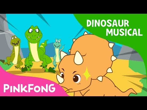 The Cool Horns of Triceratops | Dinosaur Musical | Pinkfong Stories for Children