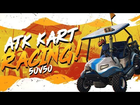 ATK RACING WITH THE ENTIRE SERVER! Ft. Daequan (Fortnite 50v50 Full Match)
