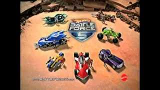 Double Trouble - Battle Force 5 - Hot Wheels - TV Toy Commercial - TV Spot - Mattel