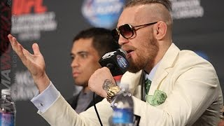 The Conor McGregor Show (UFC 178 Post Press)