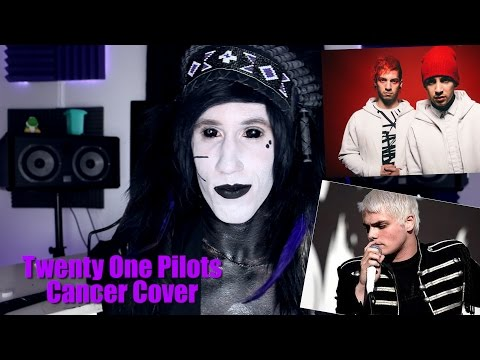 Goth Reacts to twenty one pilots: Cancer (Cover)