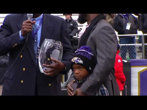 Ed Reed's Full Ring Of Honor Speech