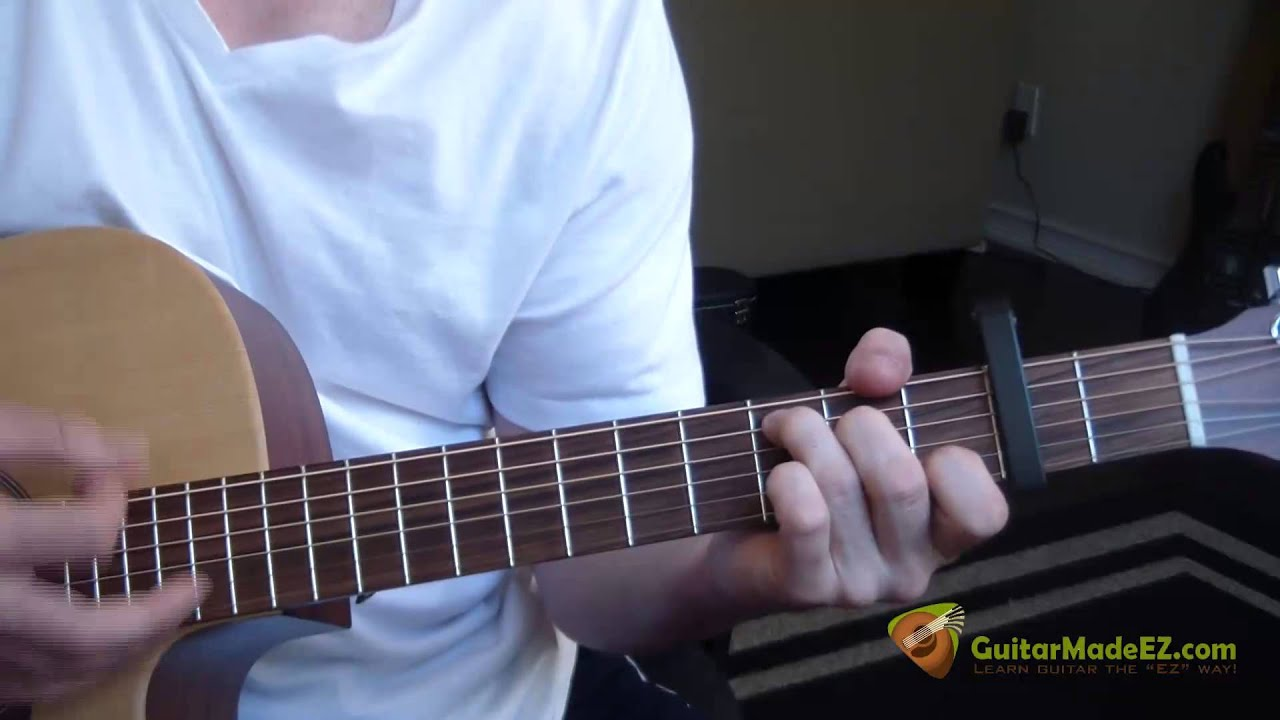 Darius Rucker Wagon Wheel Guitar Lesson Correct And Incredibly