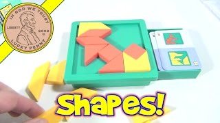 Shape By Shape Creative Pattern Puzzle, 1998 Binary Arts