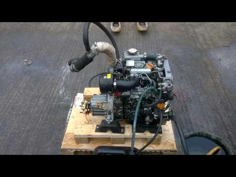 Yanmar 2YM15 15hp Marine Diesel Engine