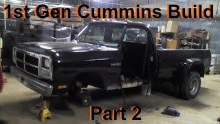 Video First Gen Dodge Cummins Build: Part 2 (Cut, Weld, Paint, Repeat) download MP3, 3GP, MP4, WEBM, AVI, FLV Juli 2018