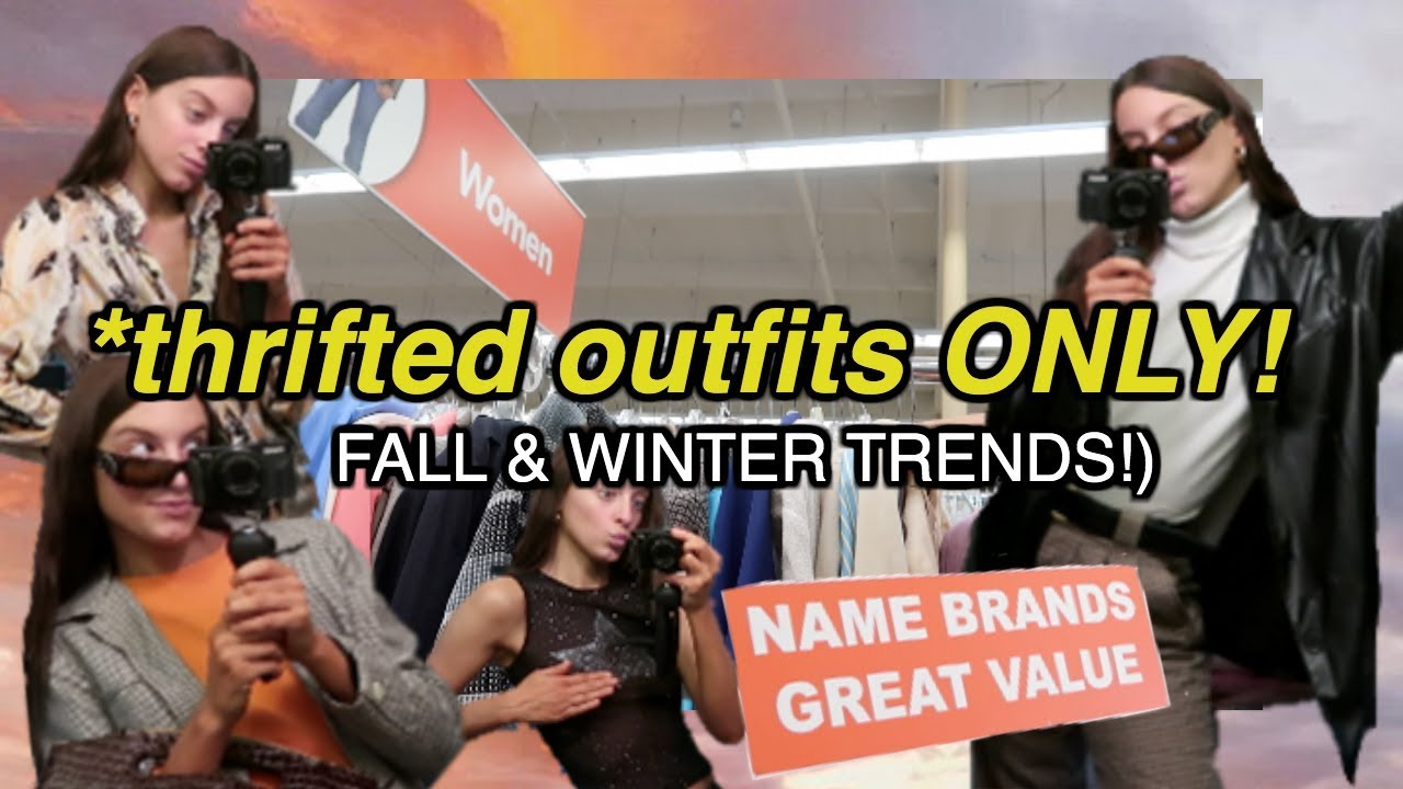 [VIDEO] – Thrifted Fall & Winter 2019 Outfit Ideas (thanksgiving, date night and the office!)
