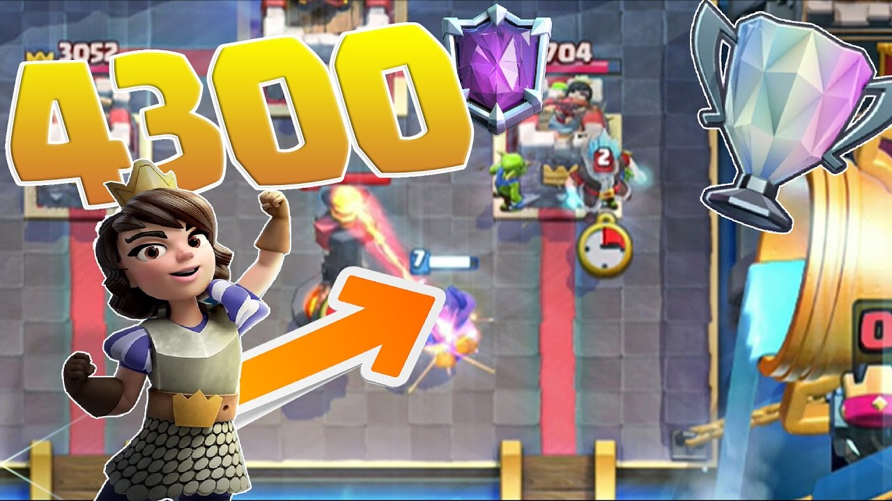 Clash Royale - META-CRUSHER! 4300+ Trophy Deck! MUST TRY!