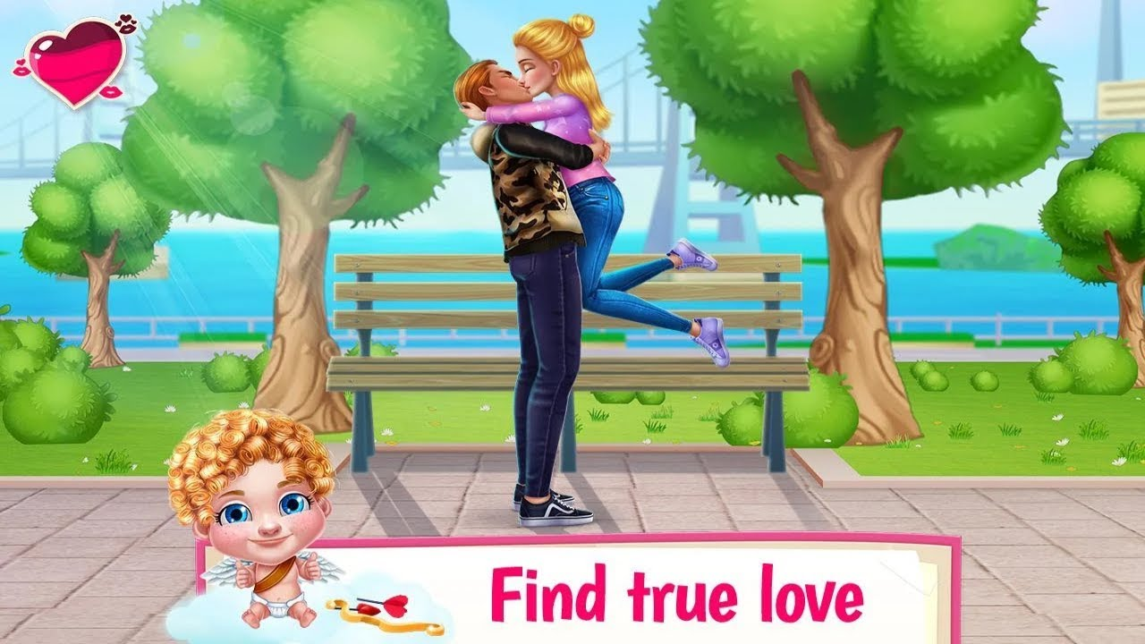 Image result for First Love Kiss - Cupid's Romance Mission      game pic