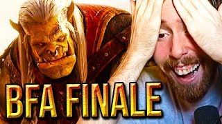 Asmongold Reacts To BFA Cinematic FINALE - Saurfang VS Sylvanas (Patch 8.2.5 War Campaign)