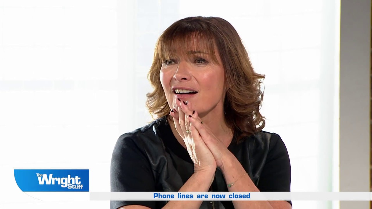 the wright stuff: lorraine kelly talks about penguin a&e on