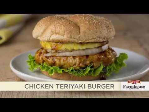 Pepperidge Farm Farmhouse Buns Recipie - Chicken Teriyaki Burger
