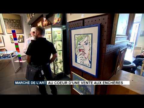 Marché de l'Art : au cœur d'une vente aux enchères
