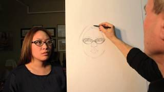 Drawing Portrait - Outline