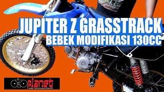 Bebek Modifikasi Jupiter Z 130cc Grasstrack Ma'rifat MRT Abadi Jaya