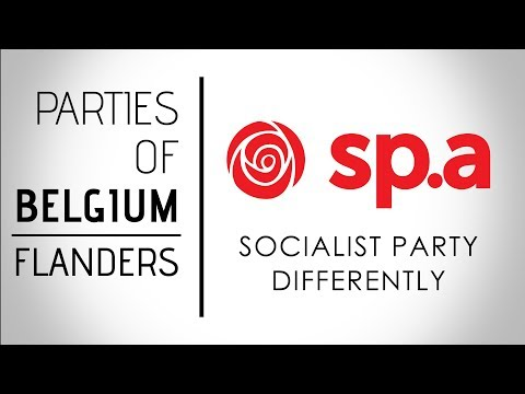 Socialistische Partij Anders | Socialist Party Differently | Belgium, Federal Election 2019
