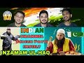 Indian Reaction On INDIAN CHANNEL INSULT INZAMAM UL HAQ | Sana's Bucket Reaction