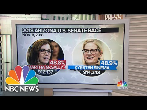 In 2018, The Arizona Senate Race Looked Very Different Few Days After The Election | Meet The Press