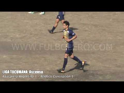 LIGA TUCUMANA (Ascenso): Azucarera Argentina y Atlético Concepción repartieron goles en Corona