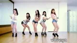 4minute Whats Your Name Dance Practice Waveya Korea Dance Group
