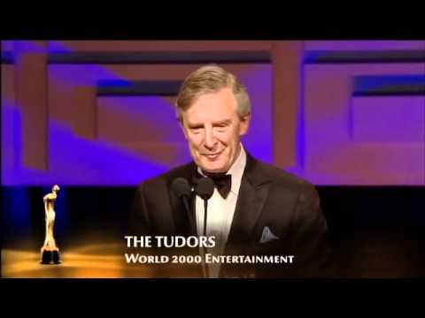 The Tudors, IFTA Winner 2011, Drama Series/Soap, with Brian Dowling & Michelle Keegan presenting