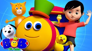 Friendship Song | We Go Song | Johny Johny Yes Papa from Bob The Train