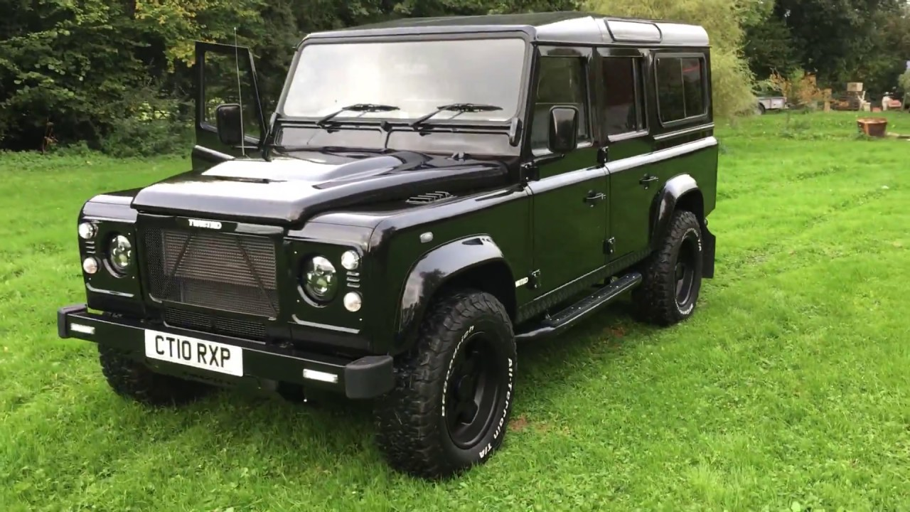 Land Rover Defender 110 Twisted Upgrades - YouTube