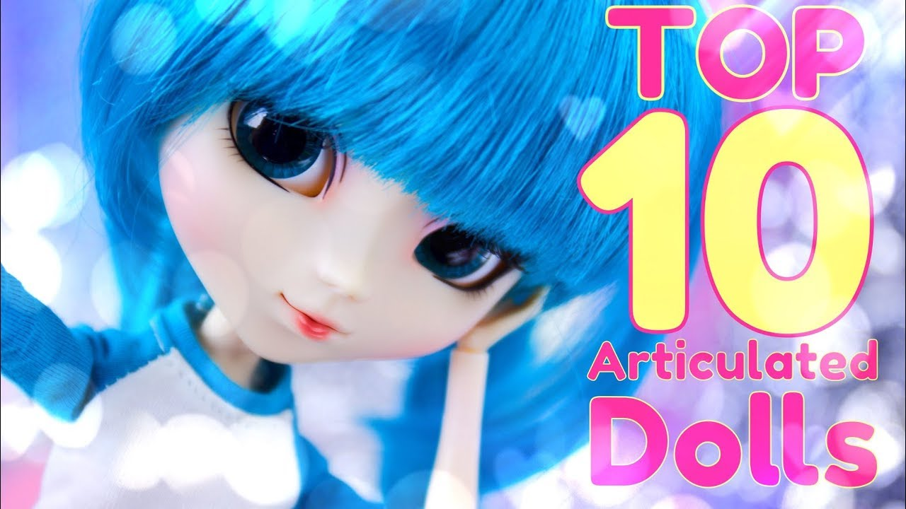 TOP 10: Best Articulated Dolls RANKED | Barbie | Monster High | Fresh Dolls | Hot Toys & More