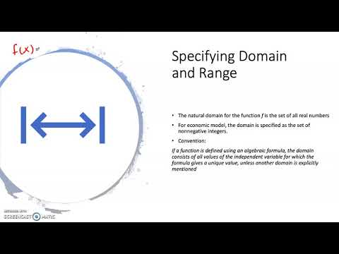 Video 2 Specify The Domain
