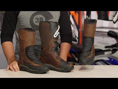 Alpinestars Campeche Drystar Boots Review at RevZilla.com
