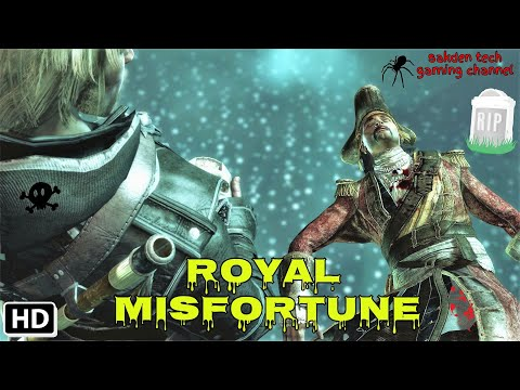 Assassin's Creed IV Black Flag gameplay mission: ROYAL MISFORTUNE