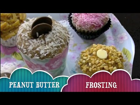 How To Make PEANUT BUTTER FROSTING PUPCAKE CUPCAKE TOPPING -  DIY Dog Food By Cooking For Dogs