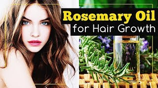 Rosemary Oil for Hair Growth: How to Use It?