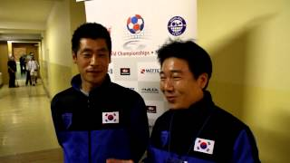 Interview with team from South Korea :) 7.12.2012