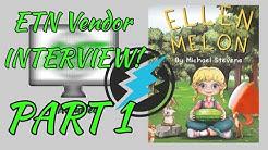 Electroneum Vendor and Ellen Melon Author Interview! Michael Stevens Tells His Story PART 1