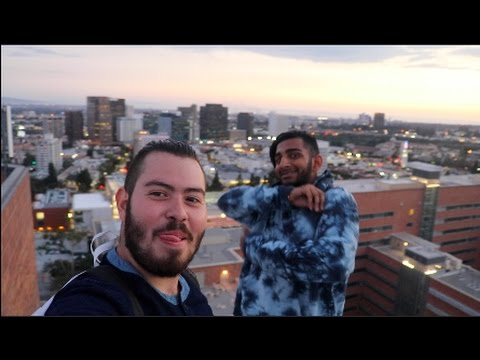 EPIC ROOFTOPPING @ UCLA!!
