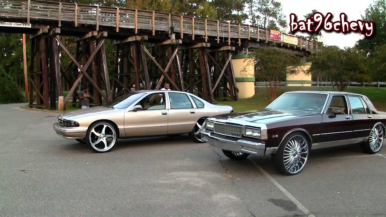 candy rootbeer box chevy on 26 dub wheels pt 2 donut   1080p hd