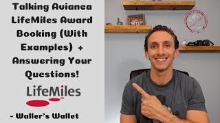 Avianca LifeMiles Award Booking + Answering Your Questions | Waller