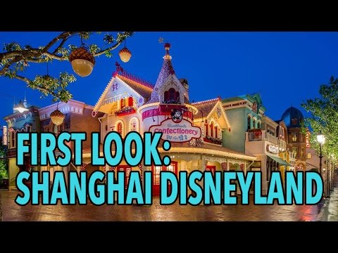 Shanghai Disneyland Resort soft opening first look