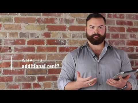 Small Business Owner's Guide to Leasing Commercial Real Estate: Additional Rent