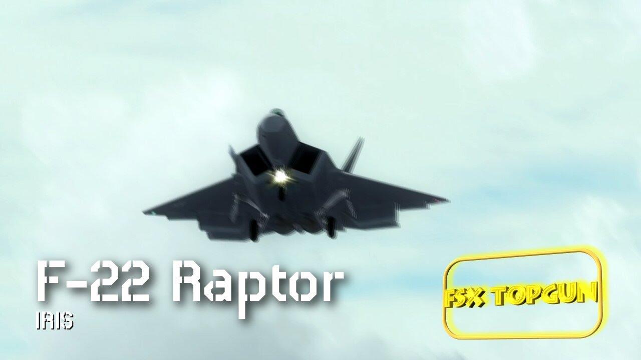 All Types f 22 raptor specs : FSX IRIS F-22 Airforce Series – Raptor Driver arriving AFB ...