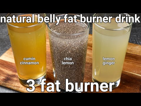 3 fat burning drink - weight loss recipes   fat burning tea   homemade drinks to lose belly fat