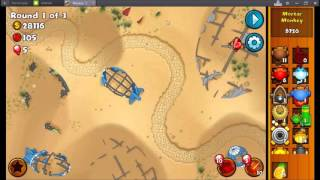 How to EASILY beat MOAB Graveyard in Bloon Monkey City [GONE SEXUAL]