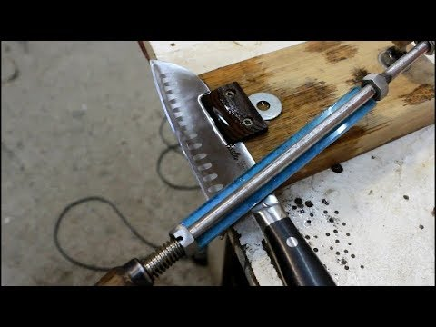 Точилка для ножей своими руками How to make Knife Sharpener