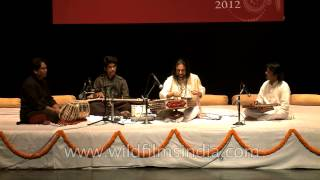 Indian instrumentalist Bhajan Sopori charms the audience with Santoor